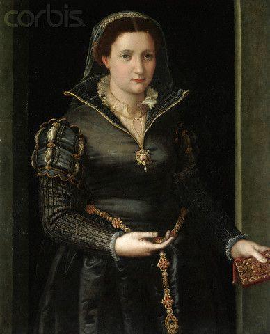 Portrait of Isabella de'Medici. By Bronzino.