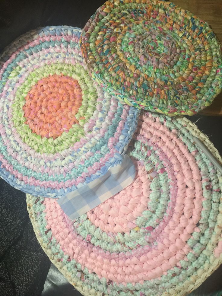 Rag rugs just started these