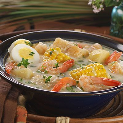 Striped bass and shrimp chowder recipe shrimp fish for American fish and seafood