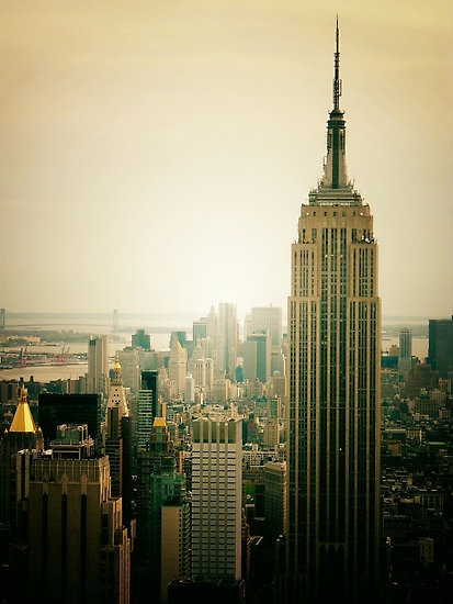 Empire State Building, New York City. I love the views from the top, both day and night. Also, the history of this building, and it's construction is absolutely amazing.