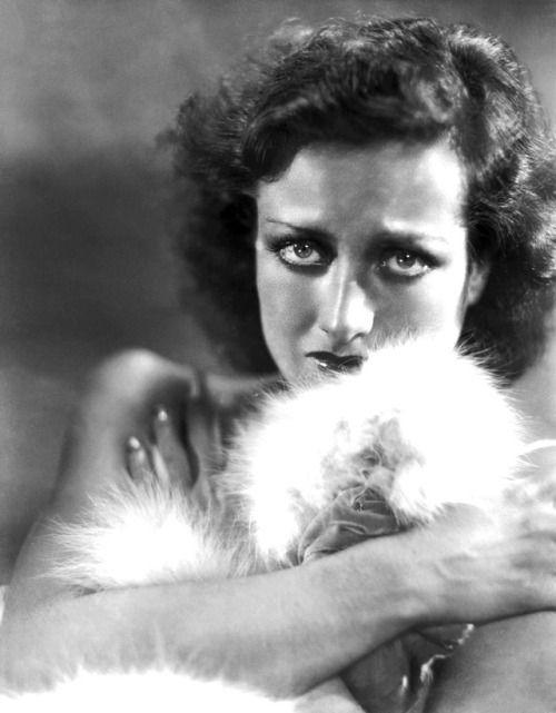 Joan Crawford by George Hurrell, 1930.