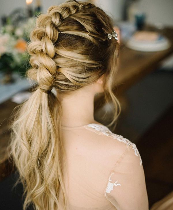 55 Unexpected Braided Hairstyles For Long Hair Checopie Braids For Long Hair Cool Braid Hairstyles Braided Hairstyles For Wedding