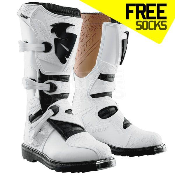 2016 Thor Blitz Boots - White