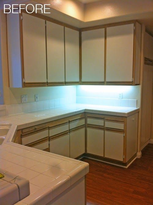 Image Result For Paint Over Laminate Kitchen Cabinets
