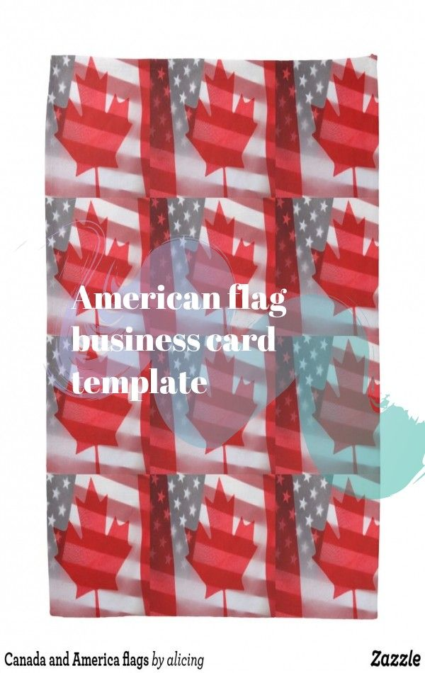 American Flag Business Card Template American Flag Tattoo American Flag Flag