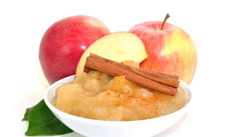 Basischer Frühstücksbrei mit Apfel