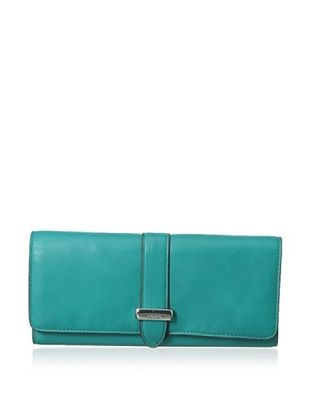 58% OFF LODIS Women's Hill Street Kayden Wallet (Jade)