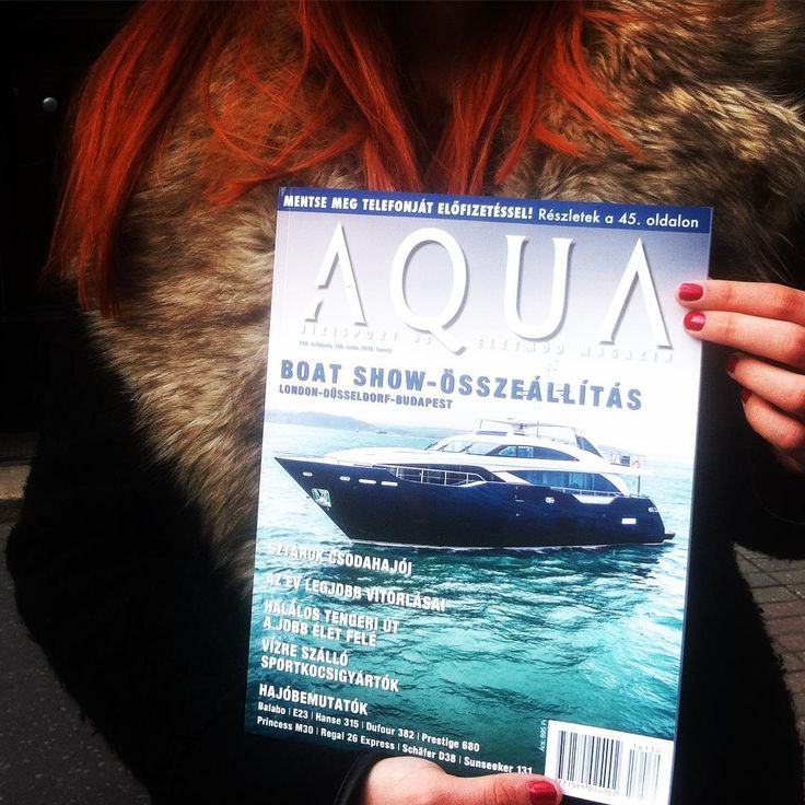 BALABO is written on the cover, in the preface and has a 2 page article! Thank you! :) #balabo#budapestboatshow#design#boat#yacht#hungarian#laketransportation#aquamagazine