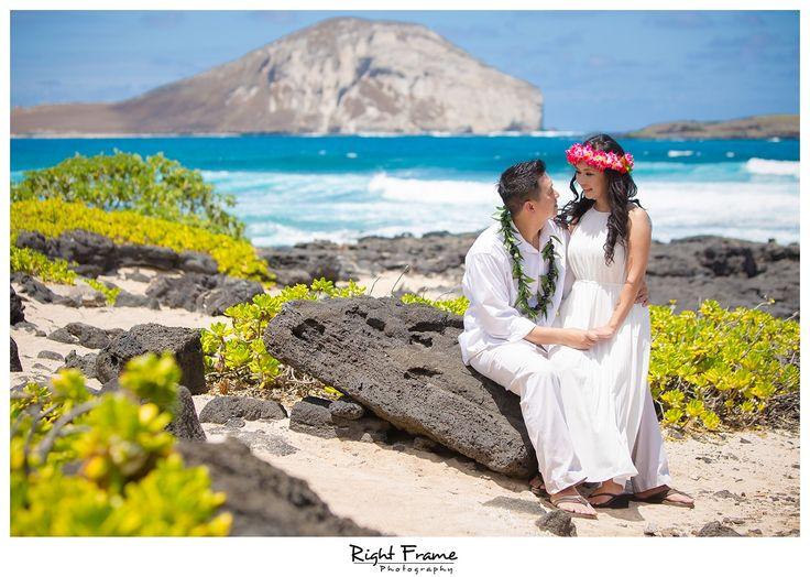 Beach Wedding Ceremony Oahu: 23 Best Makapuu Beach Wedding Oahu Hawaii Images On Pinterest