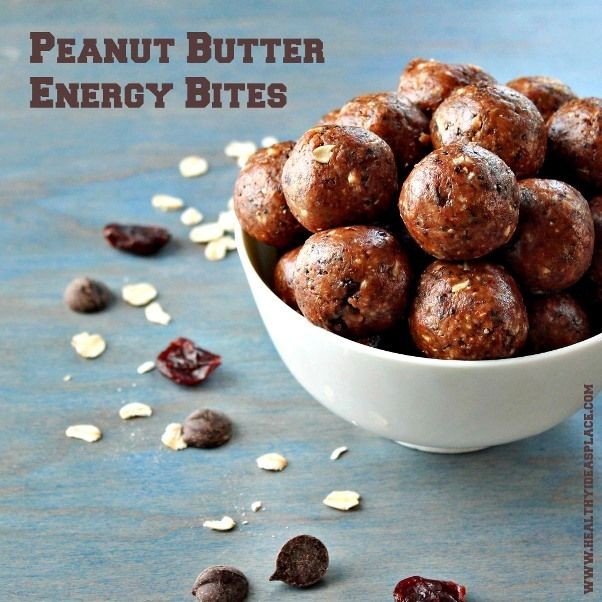 Peanut Butter Energy Bites, quick and easy to make, are a healthy ...