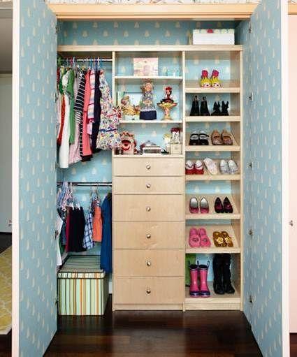 #decoracion #manualidades Añade color al fondo del armario