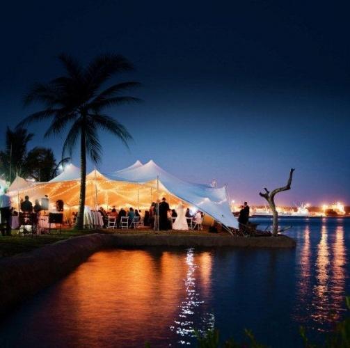 Nomadik Stretch Tents: Harbour Lights