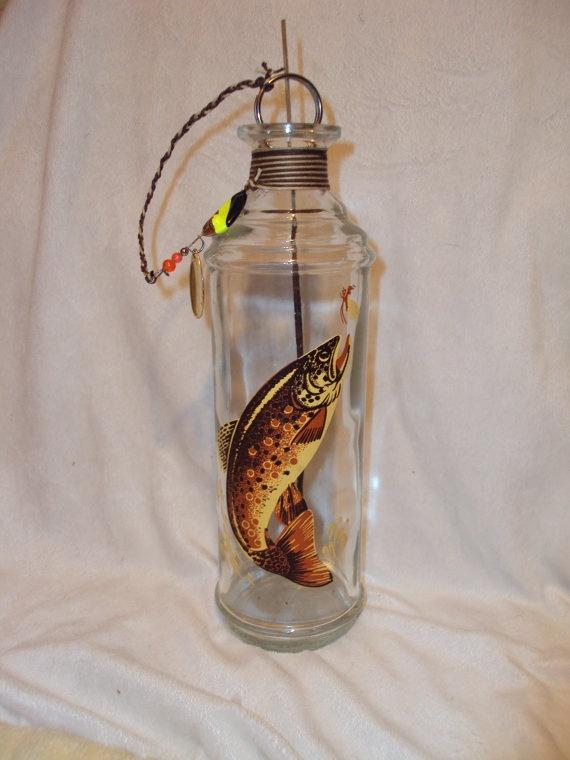 Incense Bottle Burner Fishermans Old Decanter