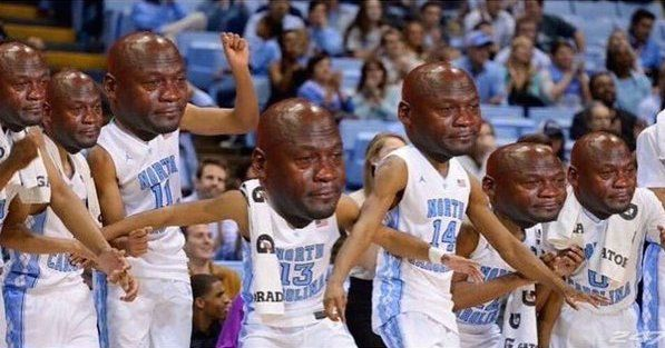All the Best Crying Jordan Memes from Last Night's NCAA Stunner But in reality, MJ seemed to be enjoying himself.
