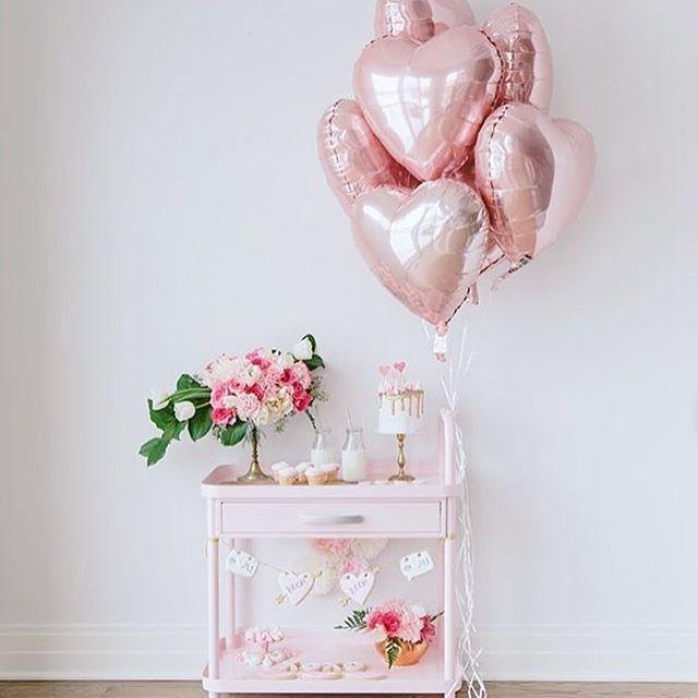 Happy Valentine's Day! 💕 . . . . . Photo @thepartyparade #pretty #prettyparty #pink #love #lovetheme #balloon #heart #hearts #valentines #valentinesday #valentinesvibes #pinkparty #prettyinpink #heartballoon #girlyparty #partysupplies #partydecor #partyinspo #eventdecor #eventinspiration #eventdecor #babyshower #babyshowerideas #babyshowerparty #hearttheme