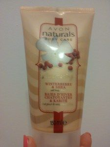 Avon winterberry & shea swirl body lotion