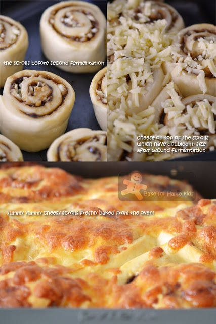 Bake for Happy Kids: Vegemite Cheesy Scrolls for Australia Day