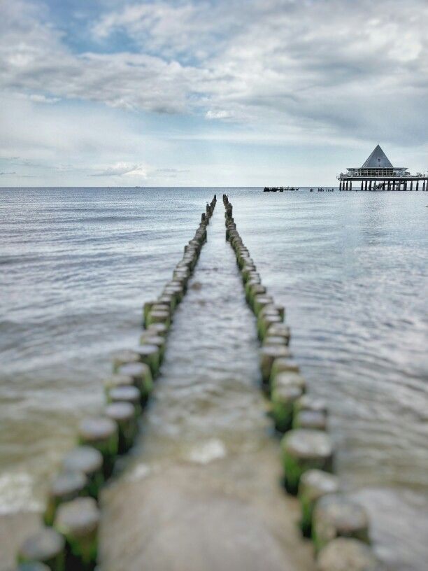The seabridge in Heringsdorf, Usedom