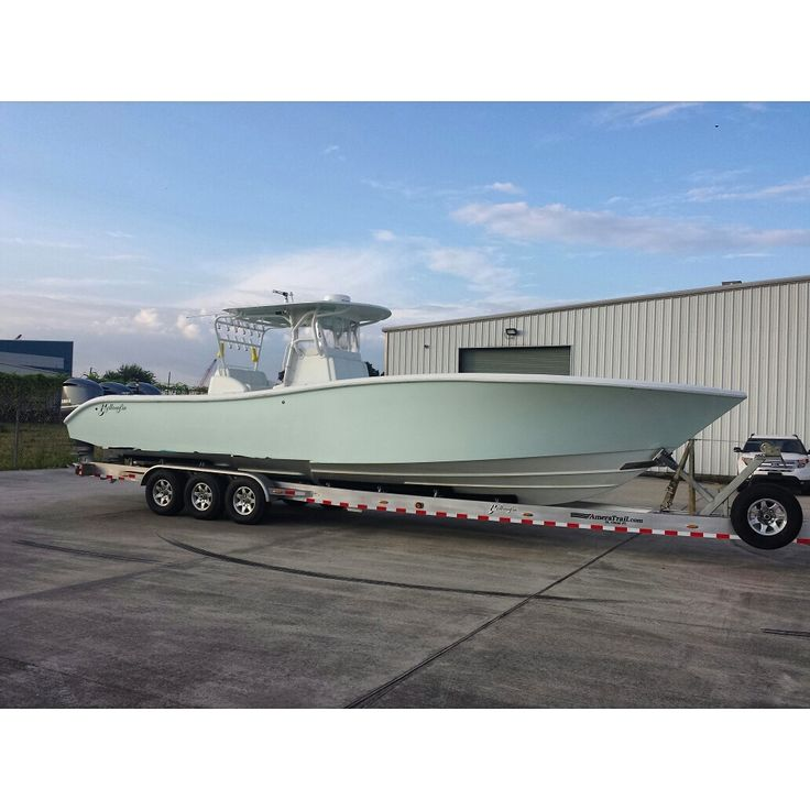 Rise and grind! 36' Yellowfin boat wrap..... It's what's