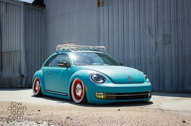 classic stanced look on a new beetle new beetle pinterest. Black Bedroom Furniture Sets. Home Design Ideas