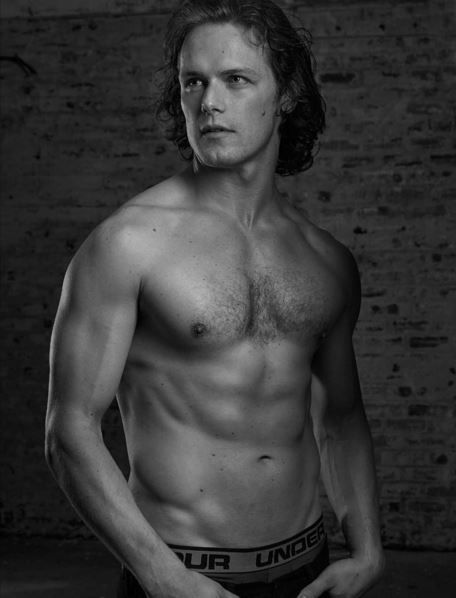 Happy that my cover shoot with @samheughan is finally out. Great shoot with a great guy in the Scottish highlands. #outlander #scottish #crossfit