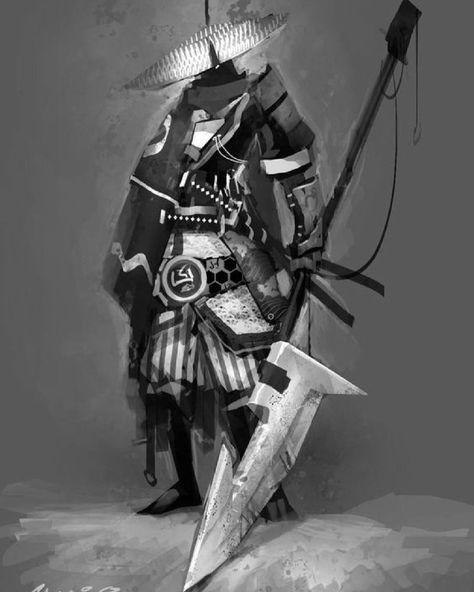 Cool samurai concept by shwann • • • • • • • • • #shinobi #assasin #warrior #samurai #manga #ниндзя #katana #art #digitalart #бусидо #japan #bushido #катана #воин #fantasy #blade #Ninja #самурай #Япония #samurai #japan #japanese #japan #japanesestyle #anime #animeart #fantasyart#drawings#asian #ronin #ронин