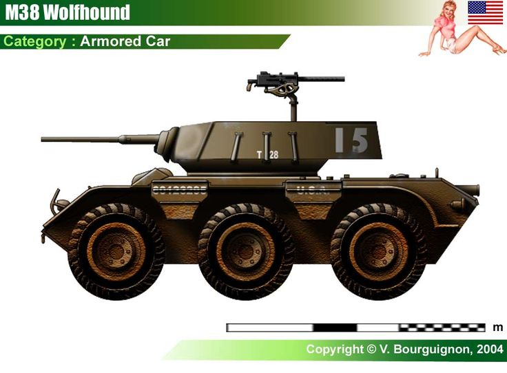 M38 Wolfhound Armored Car