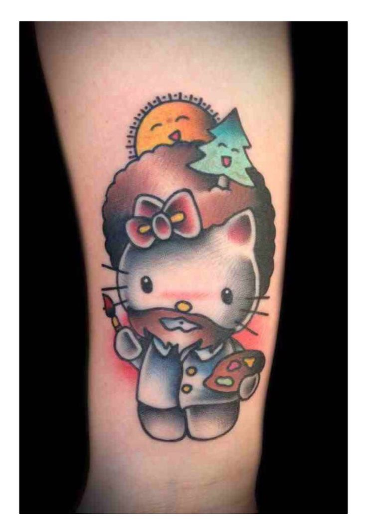 1000 images about hello kitty tattoo on pinterest bow tattoos creative and tattoo ideas. Black Bedroom Furniture Sets. Home Design Ideas