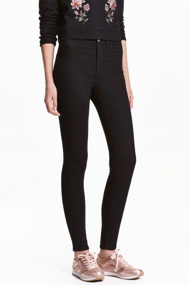 Super Skinny High Jeans - Zwart - DAMES | H&M NL 1