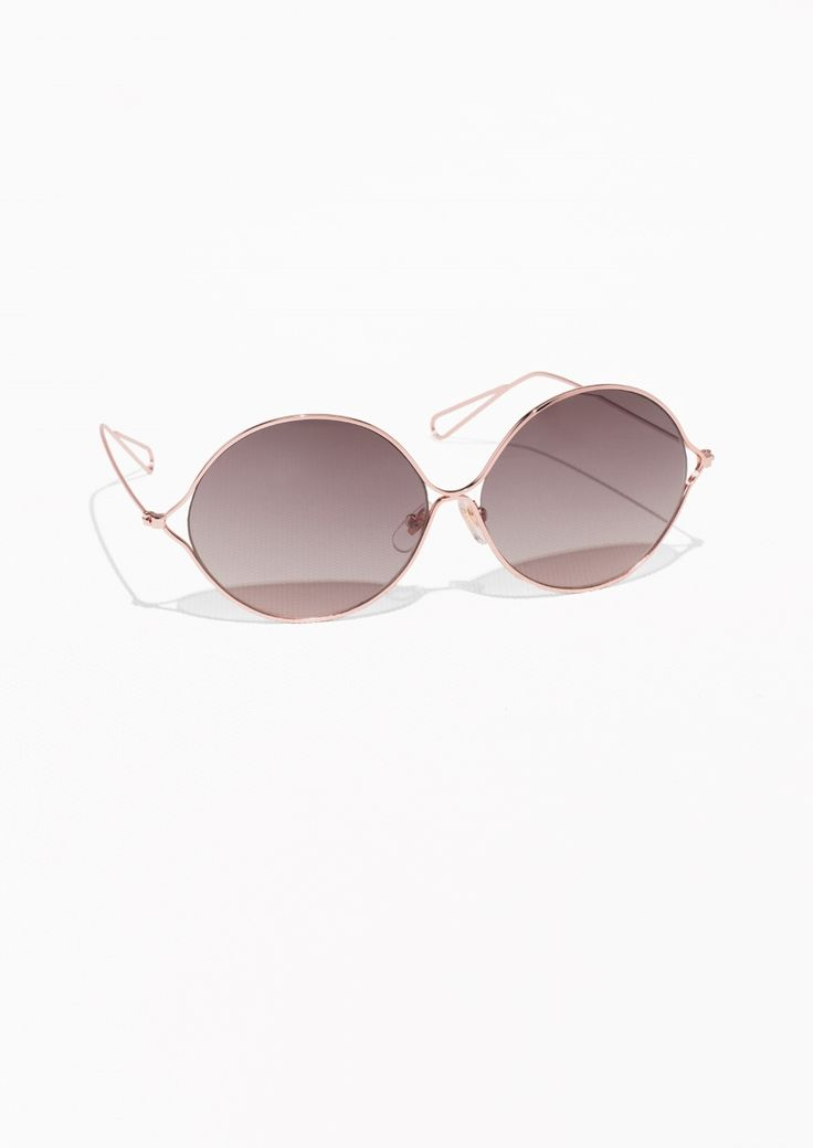 & Other Stories | Metal Sunglasses