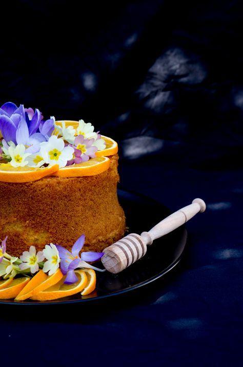 Fluffosa al miele di acacia e arancia | Marzia Balza