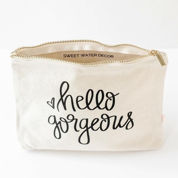 Canvas Makeup Bags Wholesale