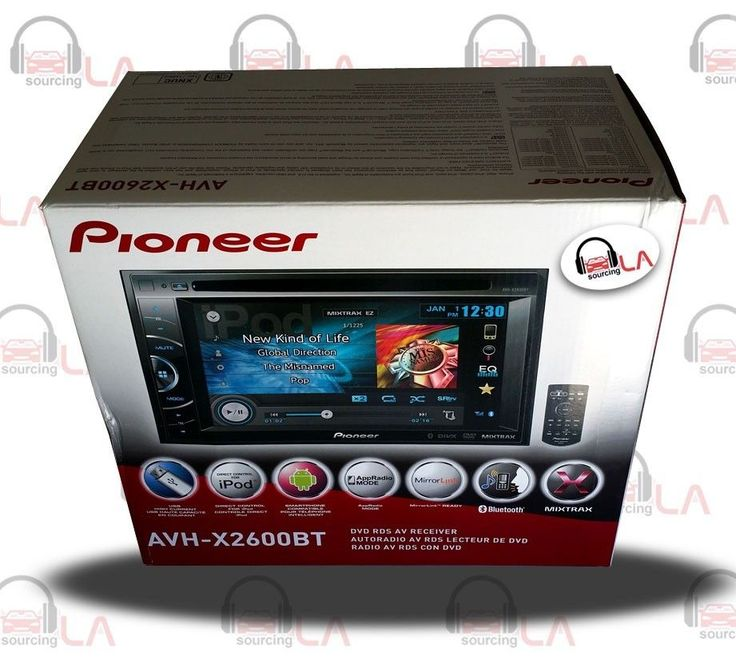 "Pioneer AVH-X2600BT 6.1"" DVD USB MP3 Bluetooth Indash Car Headunit #Pioneer"