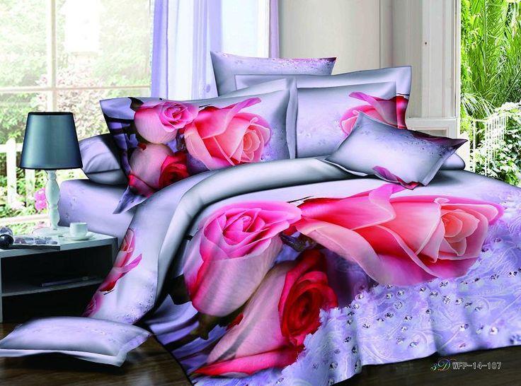 Barato Rosa vermelha jogo de cama 3d rosa vermelha vinho conjunto de cama roupas de cama roupa de cama queen size quilt cover folha de cama reativa 3d set hot B3439, Compro Qualidade Conjuntos de cama diretamente de fornecedores da China: Rosa vermelha jogo de cama 3d rosa vermelha vinho conjunto de cama roupas de cama roupa de cama queen size quilt cover folha de cama reativa 3d set hot B3439