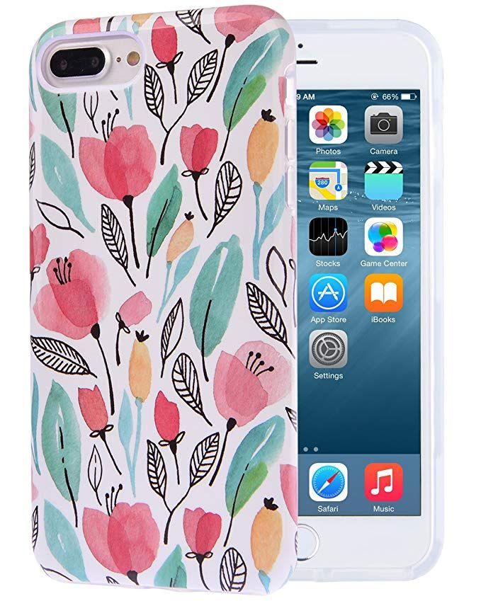 new concept 98fb2 f9860 Amazon.com: Dimaka iPhone 7 Plus Case, iPhone 8 Plus Case for Girls ...
