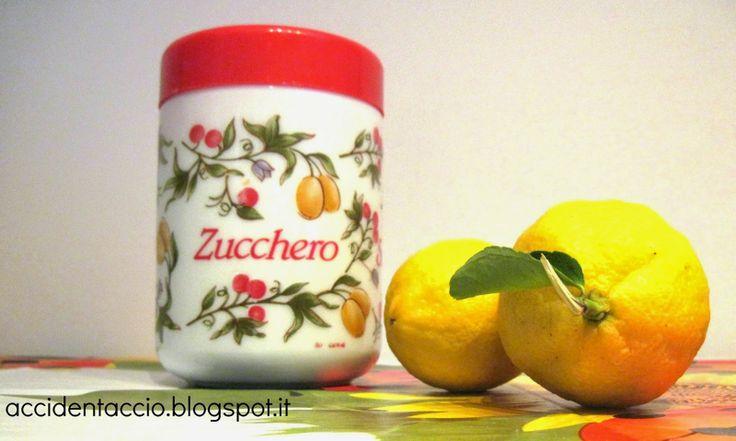 Accidentaccio: scrub per le mani fai da te con zucchero e limone