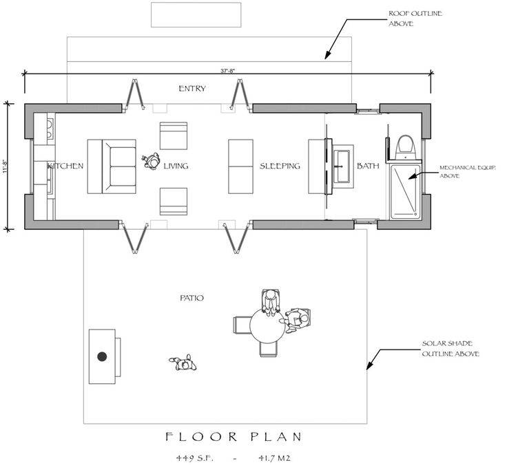 17 Best Tiny House Plans Images On Pinterest Tiny House