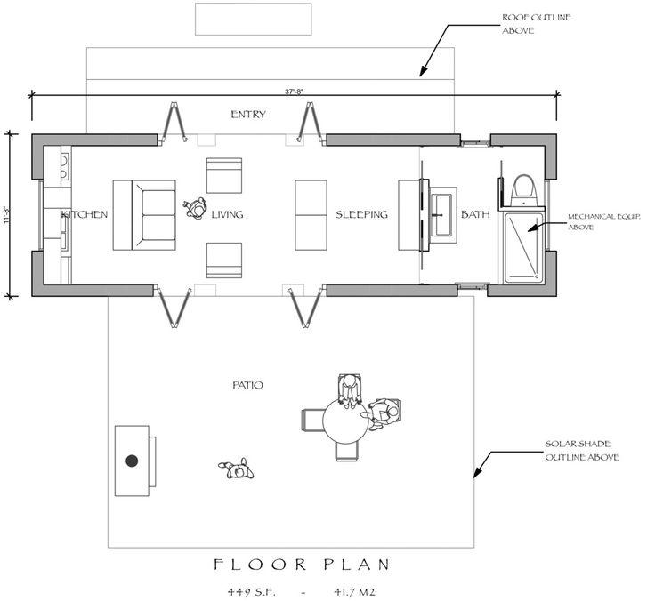 Pool pavilion or guest house house plans pinterest for Pool pavilion plans