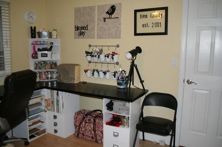 Scrapbooking deskScrapbook Room, Layout Ideas, Crafts Ideas, Scrapbook Desks, Crafts Room, Dreams House, Desks Layout, Organic Scrapbook, Scapbooking Ideas