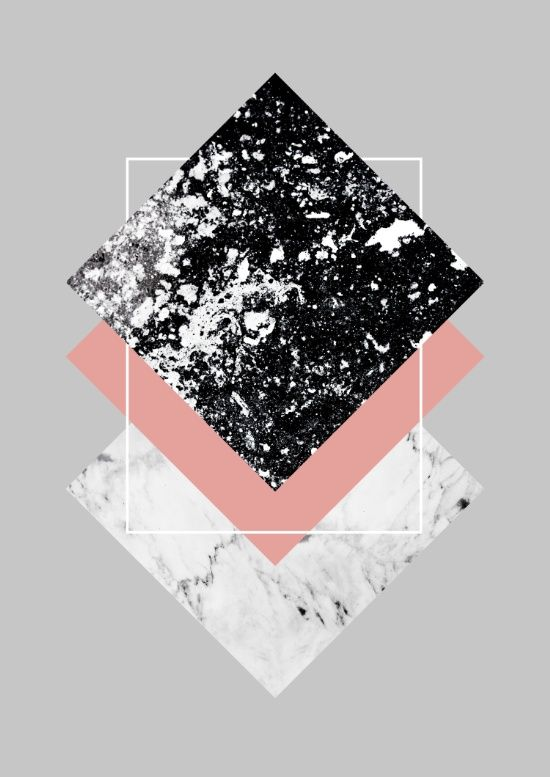 Geometric Textures, geometric wall art, monochrome art print, black & white…