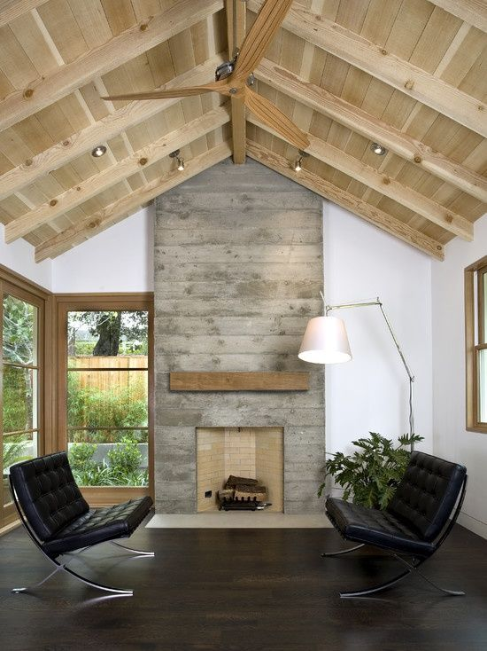 20 concrete living room design ideas