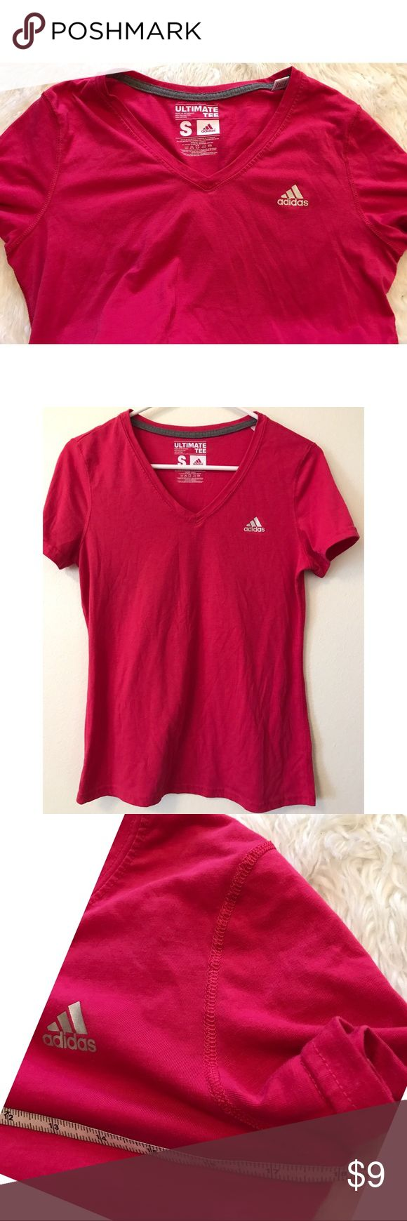Rose Pink Adidas Workout Shirt -Bundle & save!!  -Check out my other listings for more great deals!  -NO TRADES OR HOLDS -I try my best to do next day shipping  ❌❌❌PLEASE DO NOT BUNDLE ANY OF THE LOTS TOGETHER, the shipping weight will be over the limit and I will cancel your order. If you have any questions  - please ask!  ❌❌❌ Adidas Tops