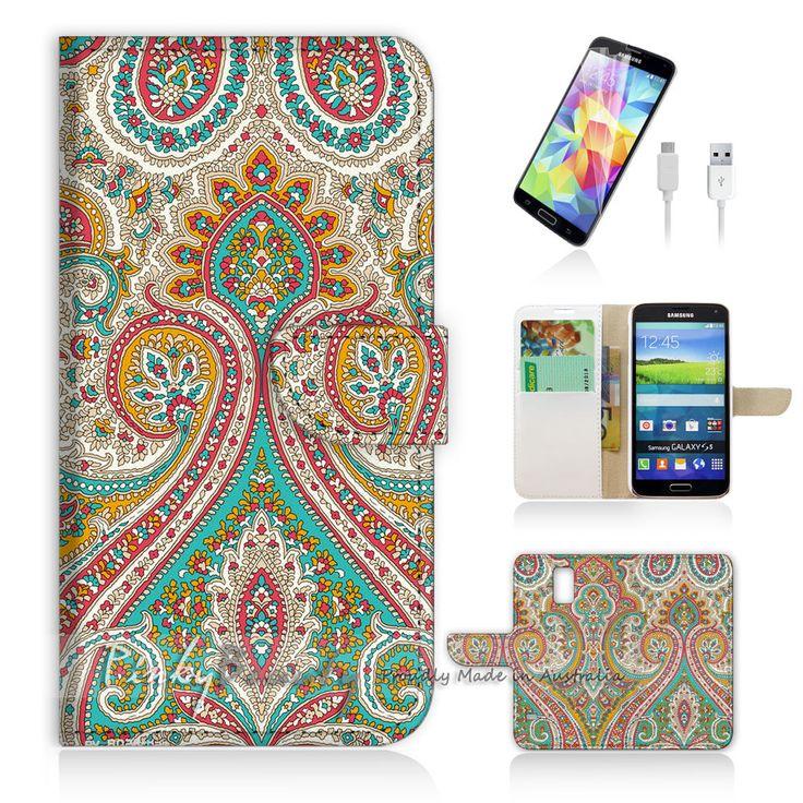 Samsung Galaxy ( S5 Active ) Flip Wallet Case Cover