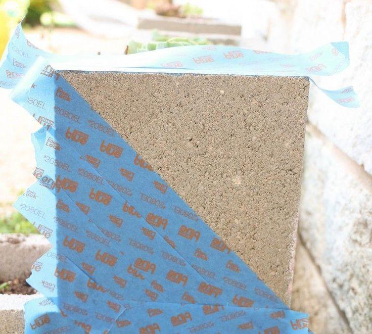 Peindre parpaing perfect la maison de luextrieur mais - Recouvrir un mur exterieur en parpaing ...