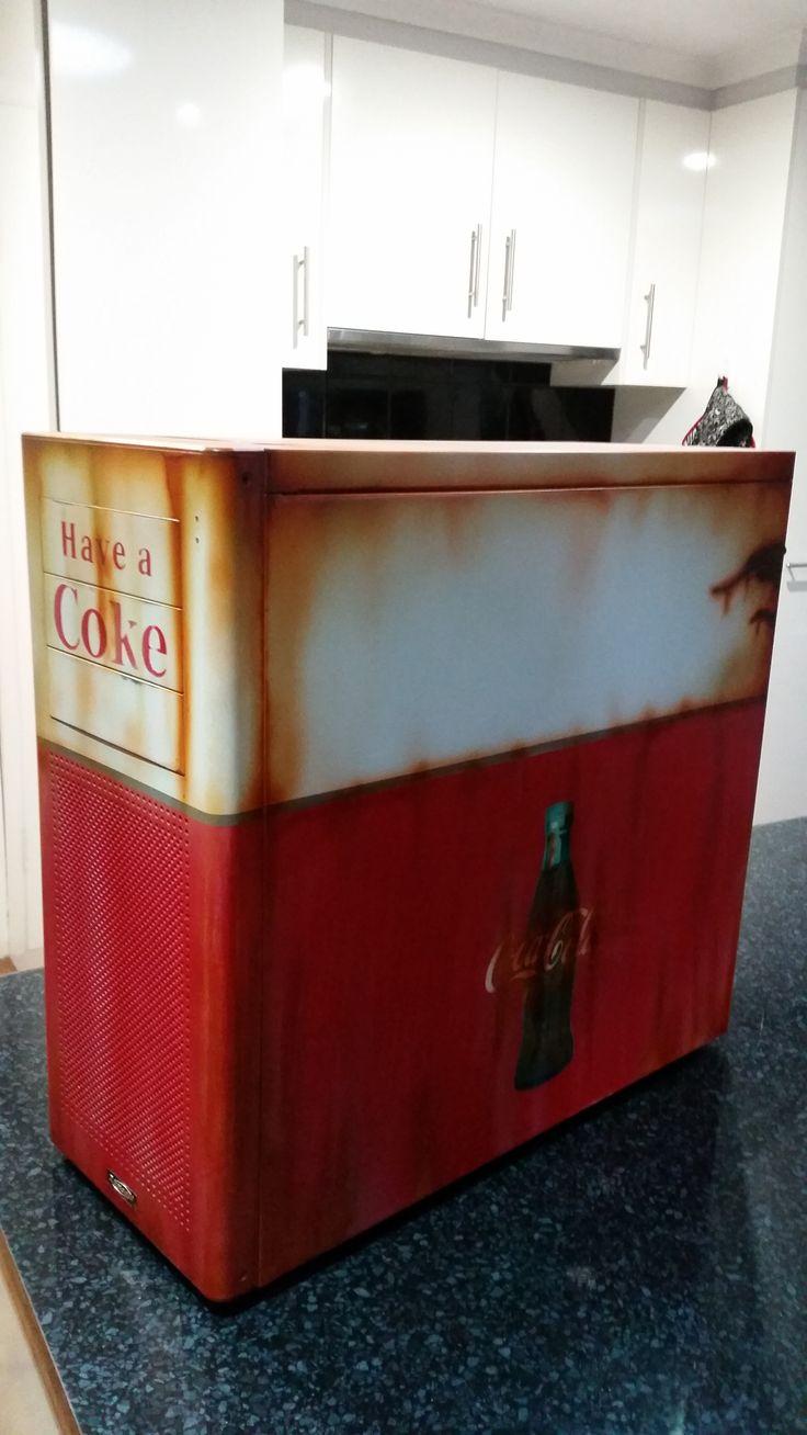 Coca Cola PC Case aged