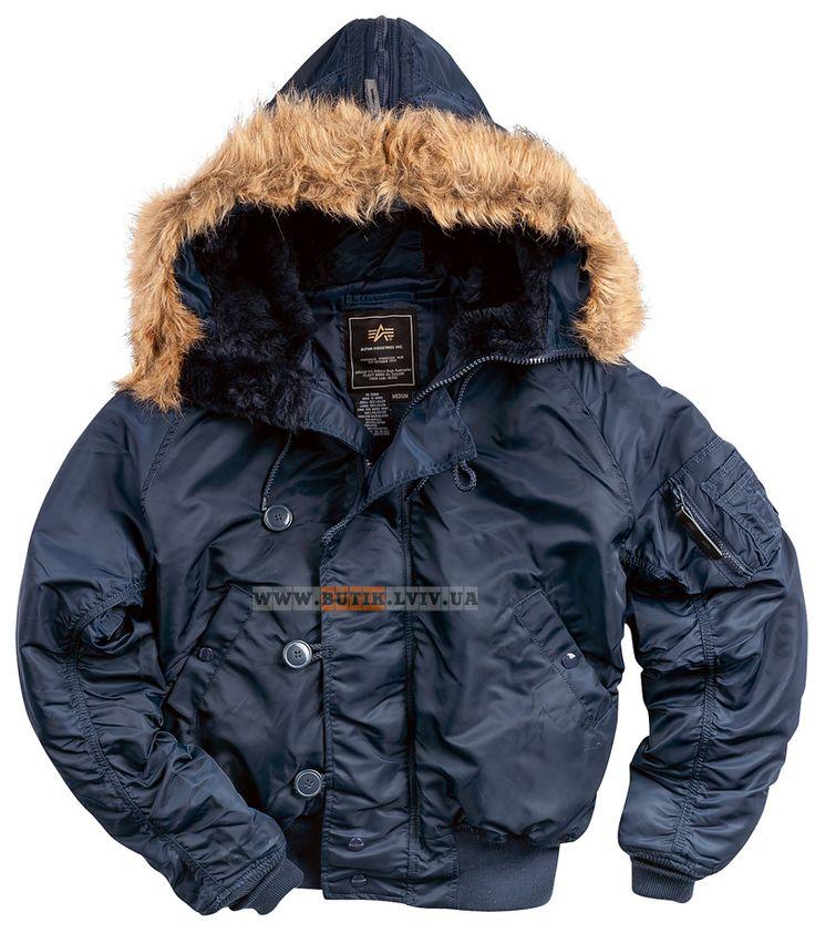Куртка аляска N2-B Alpha Industries (синя) Розміри: L,XL Ціна: 2660 грн.
