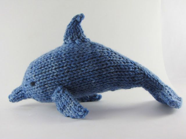 A New Pattern for a Dolphin called Sifiso and a Giveaway - Natural Suburbia