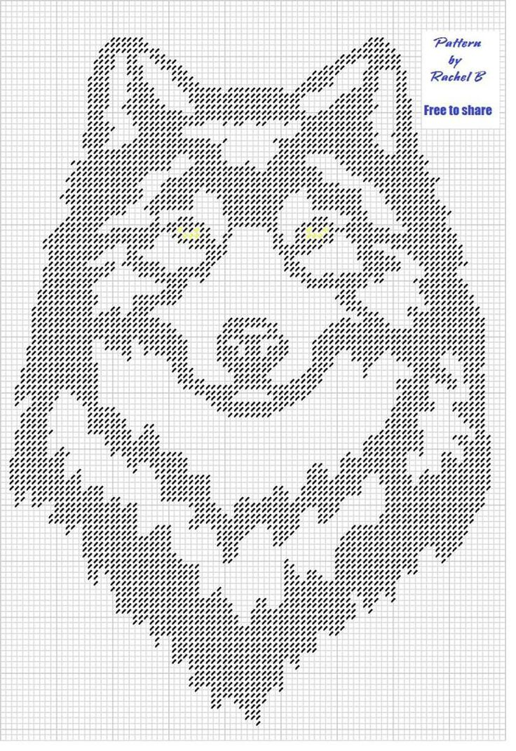 Crochet Filet Patterns Free Animals : 1358 best images about Home Crafts on Pinterest