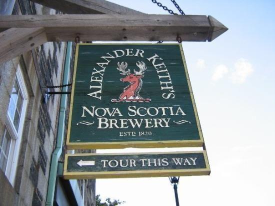 Alexander Keith's Brewery in Halifax, Nova Scotia #travel
