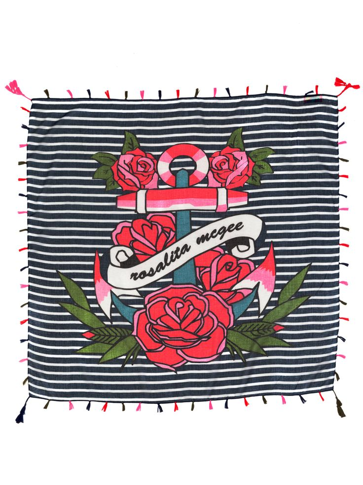 #pashminaatalaya #pashmina #fular #panuelo #pashminamarinera #navypashmina #azul #bluepashmina #rosas #summerpashmina #stripes www.rosalitamcgee.com